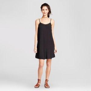 Black Woven Slip Dress - Mossimo Supply Co.